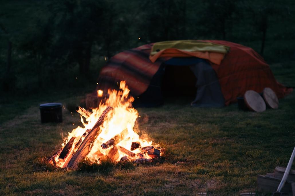 Kai Hellmich Schwitzhütte Zeremonie Ritual Heiliges Feuer